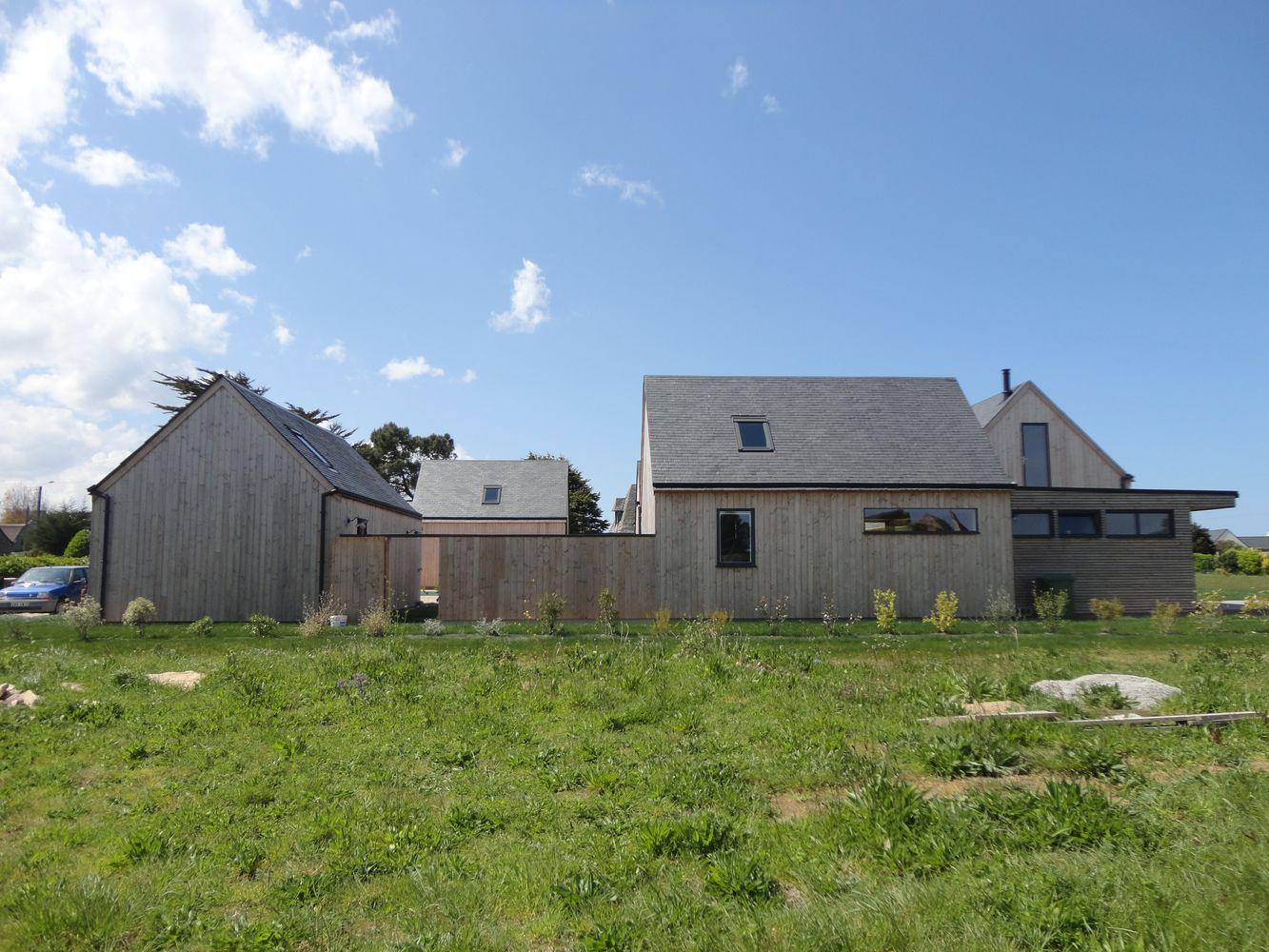 Maison Ossature Bois Finistere - Maison ossature boisà Brignogan pr u00e8s de Morlaix en Finist u00e8re, Bretagne