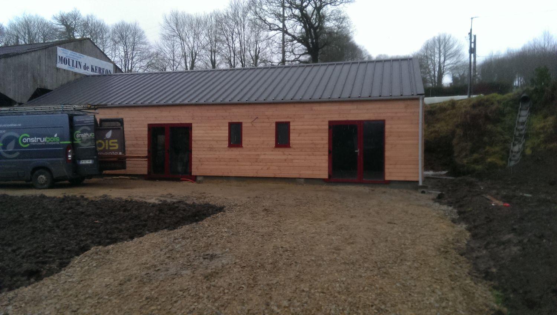 Maison ossature bois st sauveur pr s de morlaix en for Avis sur maison ossature bois
