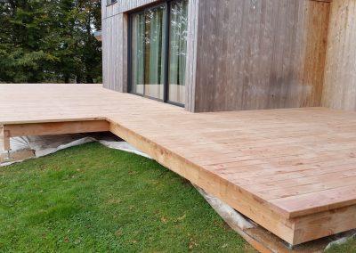 Création de Terrasse à Morlaix