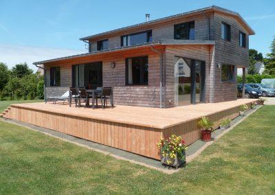 Création de terrasse à Plougonven