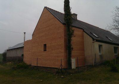 Isolation extérieure à Daoulas