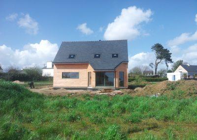 Maison ossature bois à Plouénan
