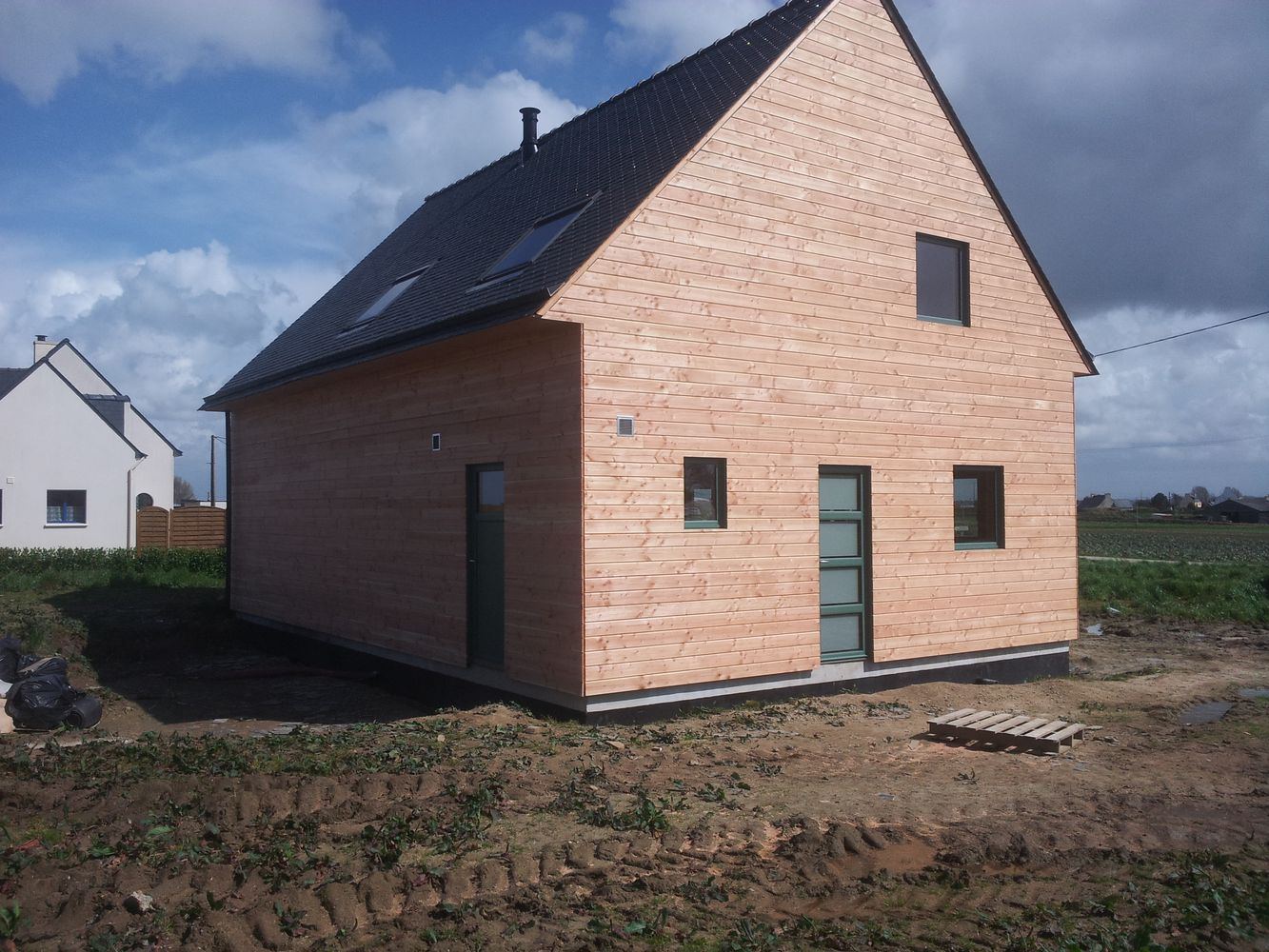 constructeur maison ossature bois morlaix i construibois. Black Bedroom Furniture Sets. Home Design Ideas