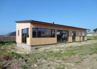 Maison ossature bois à Portsall