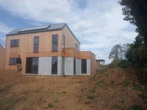 Maison ossature bois à Quimper