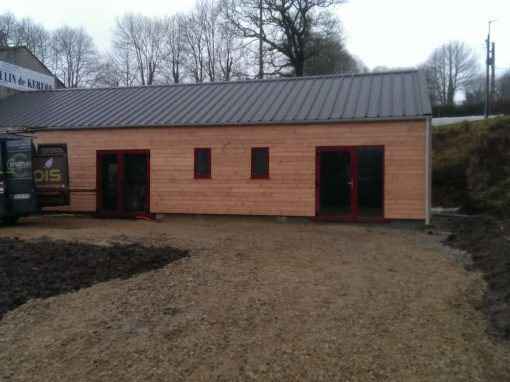 Maison ossature bois à St Sauveur
