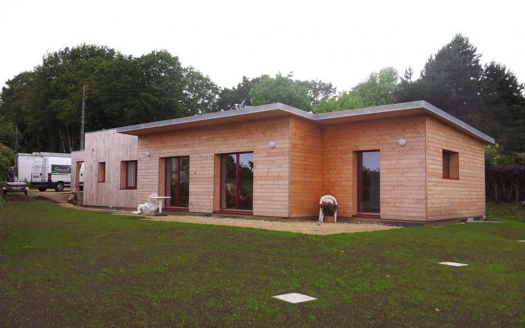 Maison ossature bois bretagne avie home for Constructeur de maison en bois en bretagne