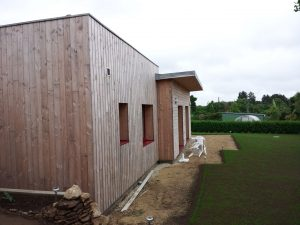 Maison ossature bois à St Yvi