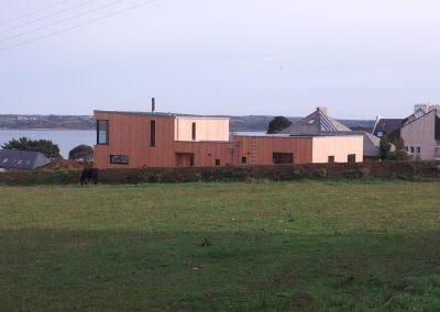 Maison panneau massif à Carantec