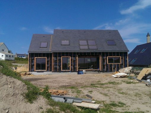 Maison panneau massif à l'Ile de Batz