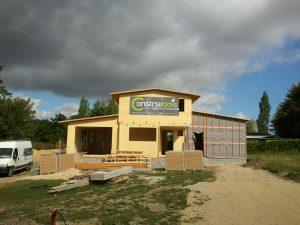 Maison panneau massif à Plougonven