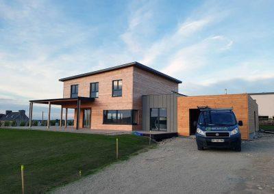 Maison panneau massif à Roscoff
