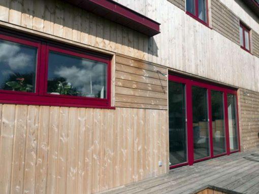 Maison passive en panneau massif à Plourin-les-Morlaix