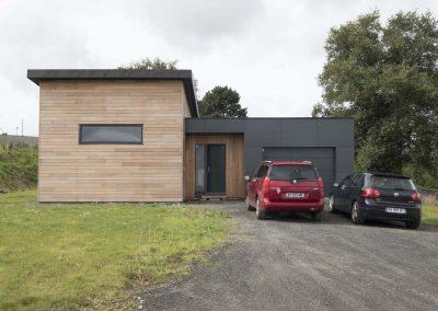 Maison panneau massif à Pencran