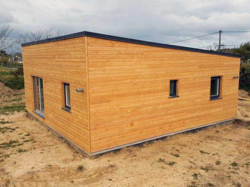 Maison ossature bois à Plougasnou